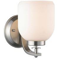 Kelly 1 Light 5 inch Brushed Nickel Wall Sconce Wall Light