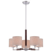Jones 5 Light Chrome Pendant Ceiling Light