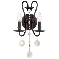 Matira 2 Light 13 inch Oil Rubbed Bronze Wall Sconce Wall Light