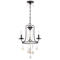 Matira 3 Light 17 inch Oil Rubbed Bronze Chandelier Ceiling Light