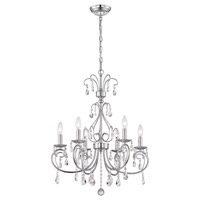 Kothari 6 Light 14 inch Chrome Chandelier Ceiling Light