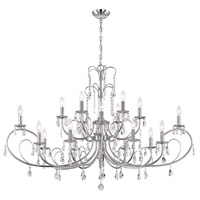 Kothari 18 Light 28 inch Chrome Chandelier Ceiling Light