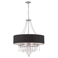 Elton 5 Light Chrome Pendant Ceiling Light