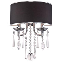 Elton 2 Light 7 inch Chrome Wall Sconce Wall Light