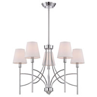 Millau 5 Light 7 inch Chrome Chandelier Ceiling Light