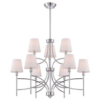 Millau 9 Light 7 inch Chrome Chandelier Ceiling Light