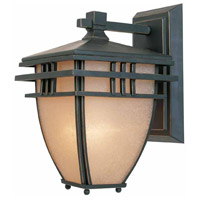 Lloyd 1 Light 11 inch Aged Bronze Patina Outdoor Wall Sconce