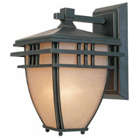 Lloyd 3 Light 17 inch Aged Bronze Patina Outdoor Wall Sconce