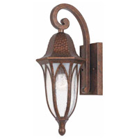 Balin 1 Light 18 inch Burnished Antique Copper Outdoor Wall Sconce