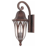 Balin 1 Light 23 inch Burnished Antique Copper Outdoor Wall Sconce