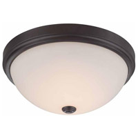 Hopkins LED 13 inch Oil Rubbed Bronze Flush Mount Ceiling Light