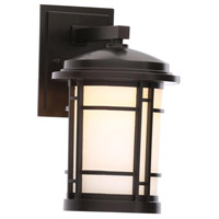 Barrister LED 12 inch Burnished Bronze Outdoor Wall Sconce