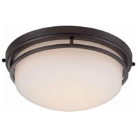 Ramsey LED 13 inch Oil Rubbed Bronze Flush Mount Ceiling Light