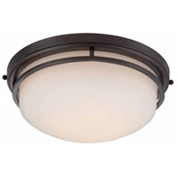 Ramsey LED 15 inch Oil Rubbed Bronze Flush Mount Ceiling Light