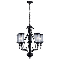 Estella 5 Light 24 inch Oil Rubbed Bronze Chandelier Ceiling Light