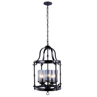 Tresor 5 Light Antique Pewter Pendant Ceiling Light
