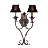 World Import Designs Pavia 2 Light Wall Sconce in Bronze 7262-89