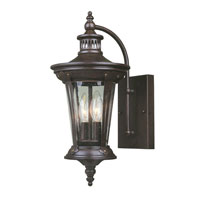 World Import Designs Northampton 2 Light Outdoor Wall Lantern in Bronze 74262-89