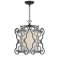 Amelia 3 Light 14 inch Rust Pendant Ceiling Light