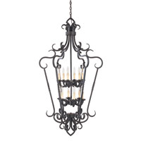World Import Designs Bristol 12 Light Foyer in Rust 8218-42 photo thumbnail