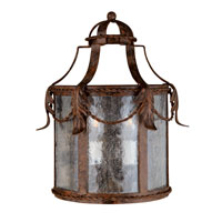 World Import Designs Medici 3 Light Outdoor Wall Lantern in Oxide Bronze 8412-58 photo thumbnail