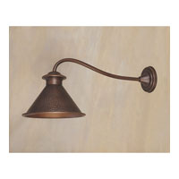 Dark Sky Essen 1 Light 12 inch Antique Copper Outdoor Wall Lantern