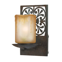 World Import Designs Adelaide 1 Light Outdoor Wall Lantern in Bronze 9026-89