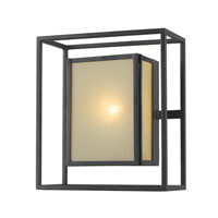World Import Designs Hilden 1 Light Outdoor Wall Lantern in Aged Bronze 9066-55