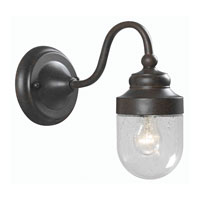 World Import Designs Dark Sky 1 Light Outdoor Wall Lantern in Bronze 9701S-89 photo thumbnail