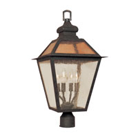 World Import Designs Cairns 4 Light Post Lantern in Flemish 9100-06