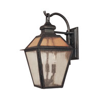 World Import Designs Cairns 4 Light Outdoor Wall Lantern in Flemish 9102-06 photo thumbnail