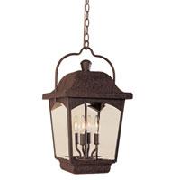 World Import Designs Ayrs 4 Light Outdoor Hanging Lantern in Bronze 9204-89 photo thumbnail