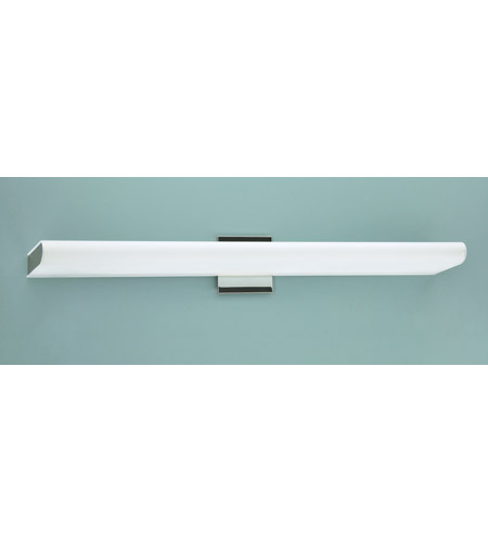 WPT Design DUKE-L-PS Duke 5 Light 32 inch Polished Stainless ADA Wall Sconce Wall Light, Largo photo thumbnail