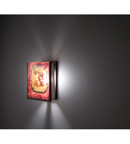 WPT Design FN2IO-BZ-GAR F/N 2IO 1 Light 8 inch Bronze ADA Wall Sconce Wall Light in Garcia alternative photo thumbnail