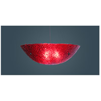 WPT Design Bowl 4 Light Flush Mount in Bronze BWL-30-WPRD-34-BZ