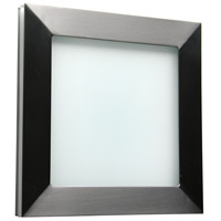 WPT Design BASICPARED-BS-STD Basic 1 Light 7 inch Brushed Stainless ADA Wall Sconce Wall Light in Brushed Stainless Steel Pared