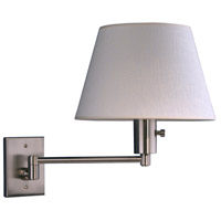 WPT Design BILBAO-BN Bilbao 1 Light 11 inch Brushed Nickel Wall Sconce Wall Light