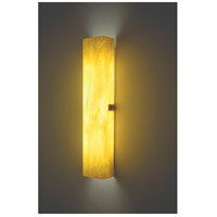 Channel 2 Light 6 inch Silver ADA Wall Sconce Wall Light in Toffee, 28, Fluorescent