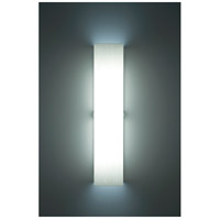 Channel 2 Light 6 inch Silver ADA Wall Sconce Wall Light in White, 28, Fluorescent