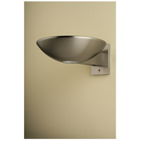 Caspio 1 Light 10 inch Brushed Nickel Wall Sconce Wall Light