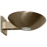 WPT Design CASPIO-SCONCE-BN Caspio 1 Light 10 inch Brushed Nickel Wall Sconce Wall Light