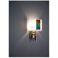 WPT Design DESSY1/6-S-R Dessy One / 6 1 Light 12 inch Stainless Steel ADA Wall Sconce Wall Light in Right Collection Single Glass