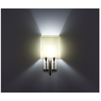 WPT Design DESSY1/8-S-AM Dessy One / 8 1 Light 14 inch Stainless Steel ADA Wall Sconce Wall Light in Amber, Single Glass