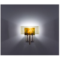 WPT Design DESSY1-MD/CVSN Dessy One 1 Light 11 inch Stainless Steel ADA Wall Sconce Wall Light in Meadow, Snow
