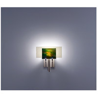 WPT Design DESSY1-MD/FLSN Dessy One 1 Light 11 inch Stainless Steel ADA Wall Sconce Wall Light in Meadow Snow