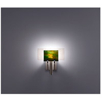 WPT Design DESSY1-MD/FLWH Dessy One 1 Light 11 inch Stainless Steel ADA Wall Sconce Wall Light in Meadow, White