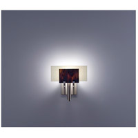 WPT Design DESSY1-RB/FLSN Dessy One 1 Light 11 inch Stainless Steel ADA Wall Sconce Wall Light in Root Beer, Snow