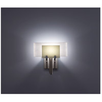 WPT Design DESSY1-SN/CVWH Dessy One 1 Light 11 inch Stainless Steel ADA Wall Sconce Wall Light in Snow White