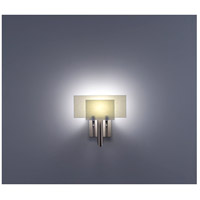 WPT Design DESSY1-SN/FLSN Dessy One 1 Light 11 inch Stainless Steel ADA Wall Sconce Wall Light in Snow