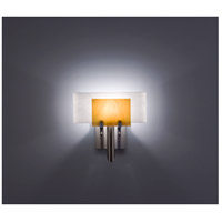 WPT Design DESSY1-TF/CVWH Dessy One 1 Light 11 inch Stainless Steel ADA Wall Sconce Wall Light in Toffee White